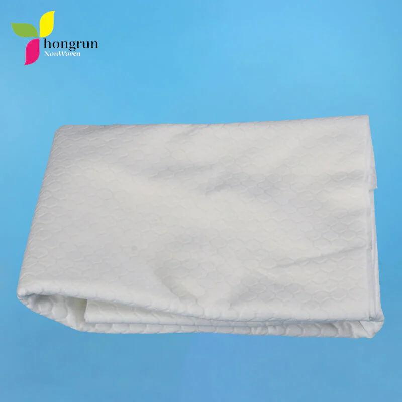 Лучший выбор для ухода за больными Airlaid Мягкий нетканый одноразовый банное полотенце бумага 30см x 33см 100шт