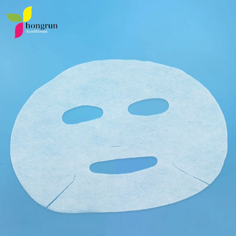 Горячая распродажа DIY маска для лица из нетканого материала одноразовые сухой 50gsm белый маска для лица